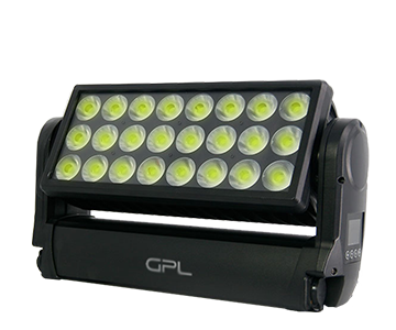 24pcs LED outdoor wash moving head light